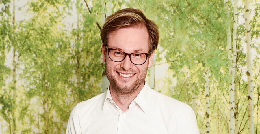 Anjes Tjarks, Fraktionsvorsitzender der GRÜNEN Fraktion in Hamburg und Mitglied der Bürgerschaft
